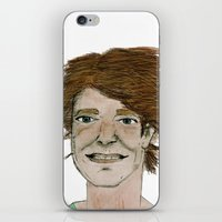dad iPhone & iPod Skins featuring dad by Rainey Emerson