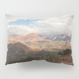 Tichka, A Long and Winding Road - Atlas Mountains, Morocco Pillow Sham