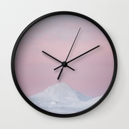 Candy mountain - Landscape and Nature Photography Wall Clock