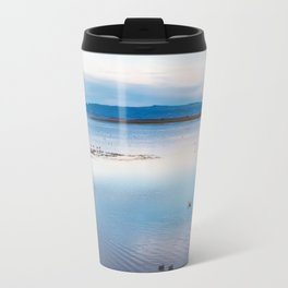 Flamingoes on El Calafate, Patagonia, Argentina Travel Mug