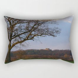 Stafford Castle Site of Ancient Norman Fortress Rectangular Pillow