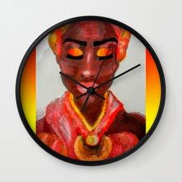 Soulful Beauty Wall Clock