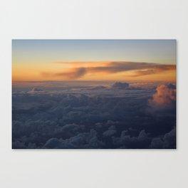 Cloud Mountains • V04 Canvas Print