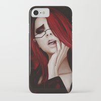 kuroshitsuji iPhone & iPod Cases featuring Lady Death by hinterdemlicht