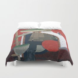 Crocodile King (KNG) Duvet Cover