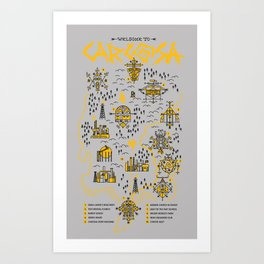 Welcome to Carcosa Art Print