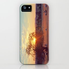 Sunset in the Central West iPhone Case