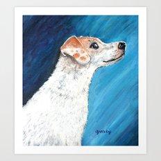 Jack Russell Terrier 2 Art Print