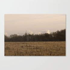 Old Fields Canvas Print