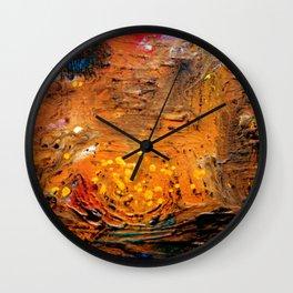 Spatial sea Wall Clock
