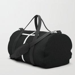White cross Duffle Bag
