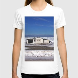 Garage and the Frozen Sea T-shirt