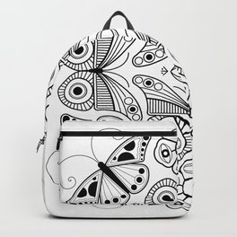 Butterfly and Eye Backpack