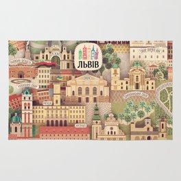 Lviv. Open for the World. Rug