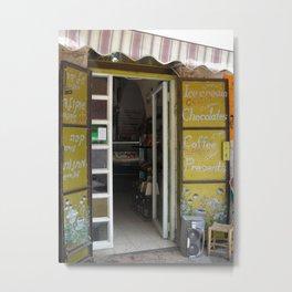 A kitchen door in Israel Metal Print