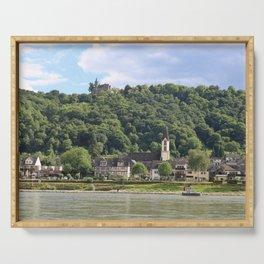 Burg Osterspai am Rhein Serving Tray