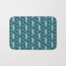 Poseidon OCEAN BREEZE / All hail the god of the sea Bath Mat