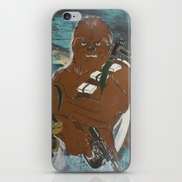 Lock and Load Chewie iPhone Skin