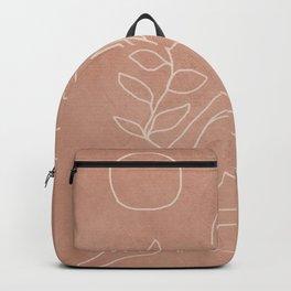 Engraved Nude Line I Backpack