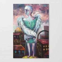 UNEMPLOYED ANGEL Canvas Print