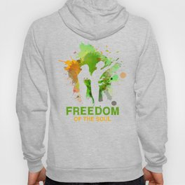 FREEDOM OF THE SOUL ABSTRA Hoody
