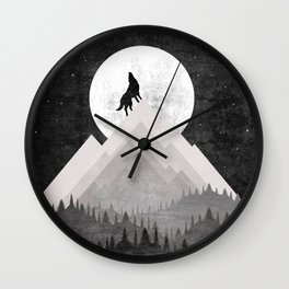 WOLF XL Wall Clock