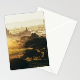 Bagan Pagodas Stationery Cards