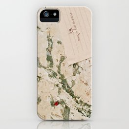 being in love in venice iPhone Case