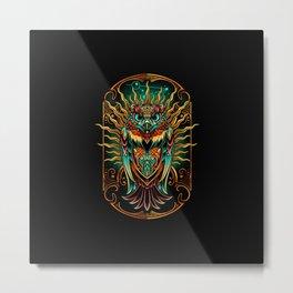 S'Owl Keeper Metal Print