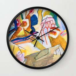 Improvisation 18, With Tombstone - Digital Remastered Edition Wall Clock