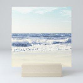 North Shore Beach Mini Art Print