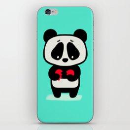 Sad Panda iPhone Skin