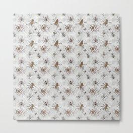 Spiders Galore Metal Print