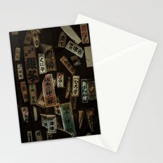 Kyoto Name Stickers 1 Stationery Cards