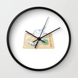 Japanese Chazuke | 茶泡饭 Wall Clock