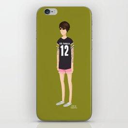 Tegan and Sara: Tegan's Pink Shorts iPhone Skin