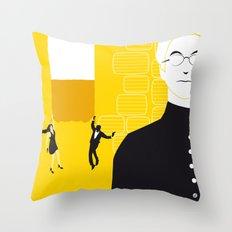 Tmorrow Never Dies Throw Pillow