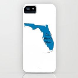 Turn Florida Blue! Vote Proud Democrat Liberal! 2018 Midterms iPhone Case