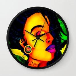 JAMAICIAN QUEEN Wall Clock