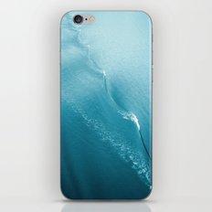 Ripple in Time (aqua) iPhone Skin