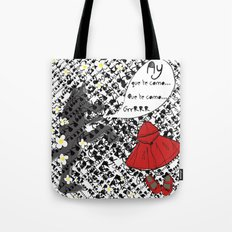 Little Red Riding Hood by Piarei Tote Bag