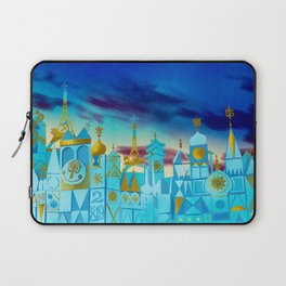 It's a Small World Laptop Sleeve