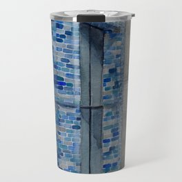 Blue Tiles Travel Mug