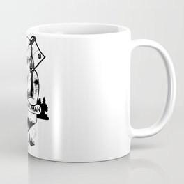 Mountain woman Coffee Mug