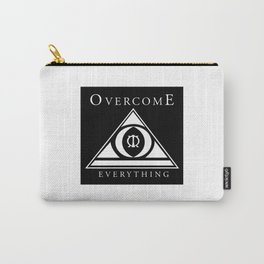 Over Come Everything Carry-All Pouch