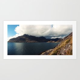 Approaching the Cuillins Art Print