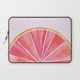 Sunny Grapefruit Watercolor Laptop Sleeve