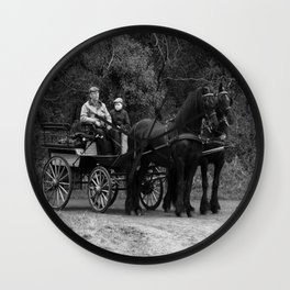 Horse Power Wall Clock