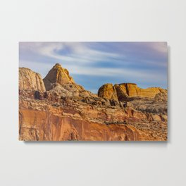 Summit of the rocks Metal Print