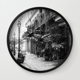 New Orleans Exchange Place Wall Clock